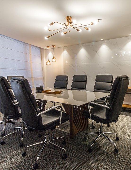 Sala de reunião por hora em Brasília DF